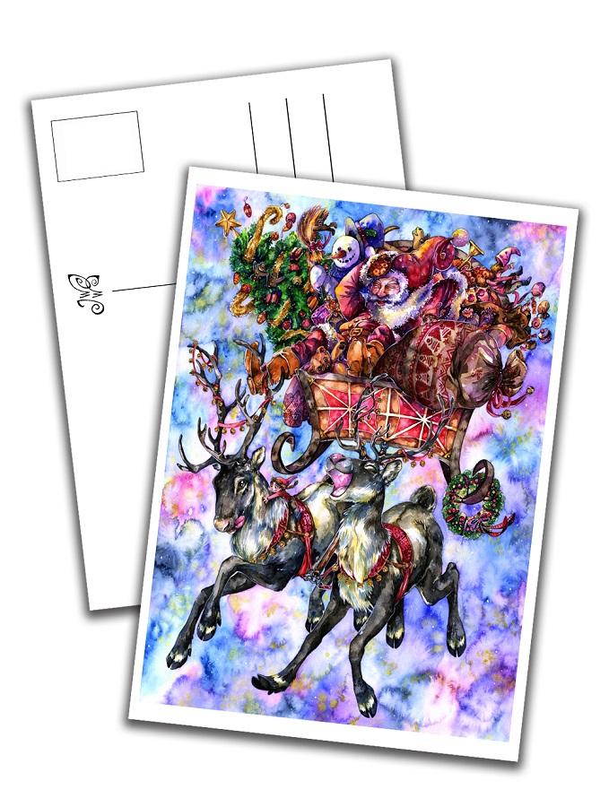 Card - Santa Claus & Co.