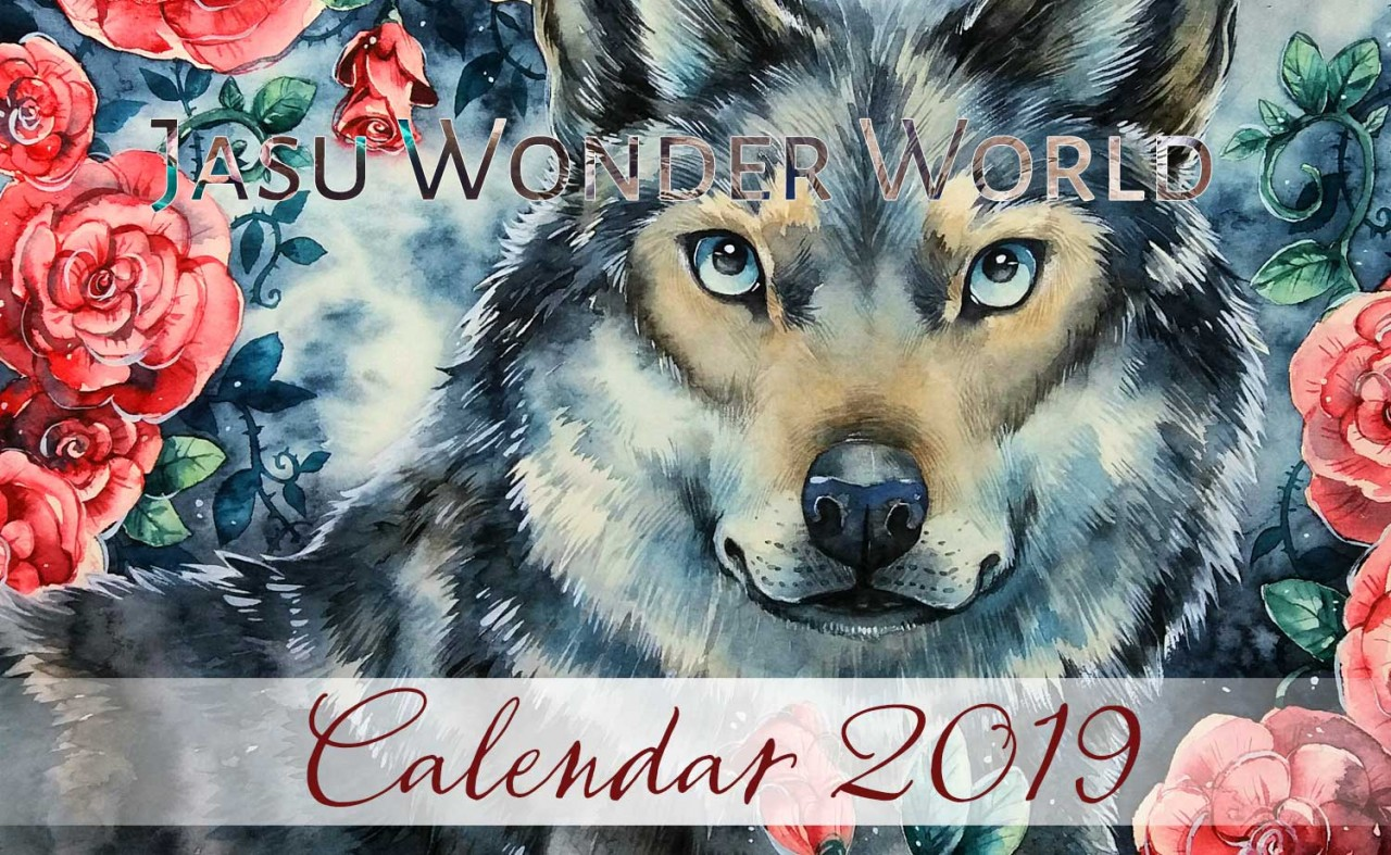 Jasu Wonder World Calendar 2019 - December (wip)