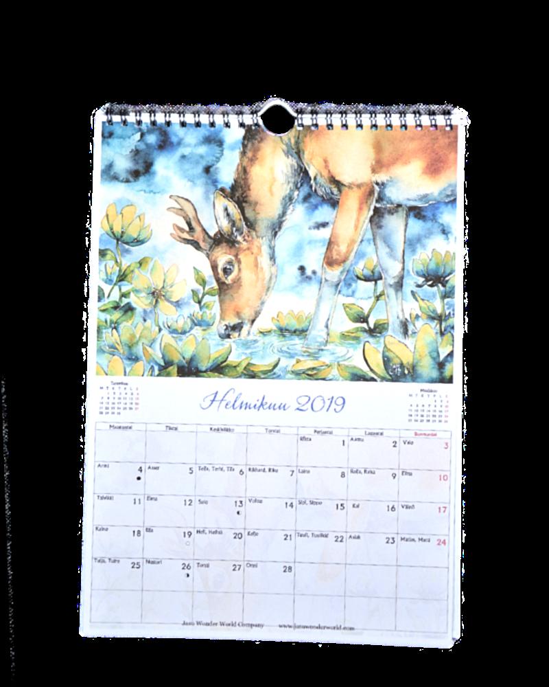 Calendar A4 Portrait Style
