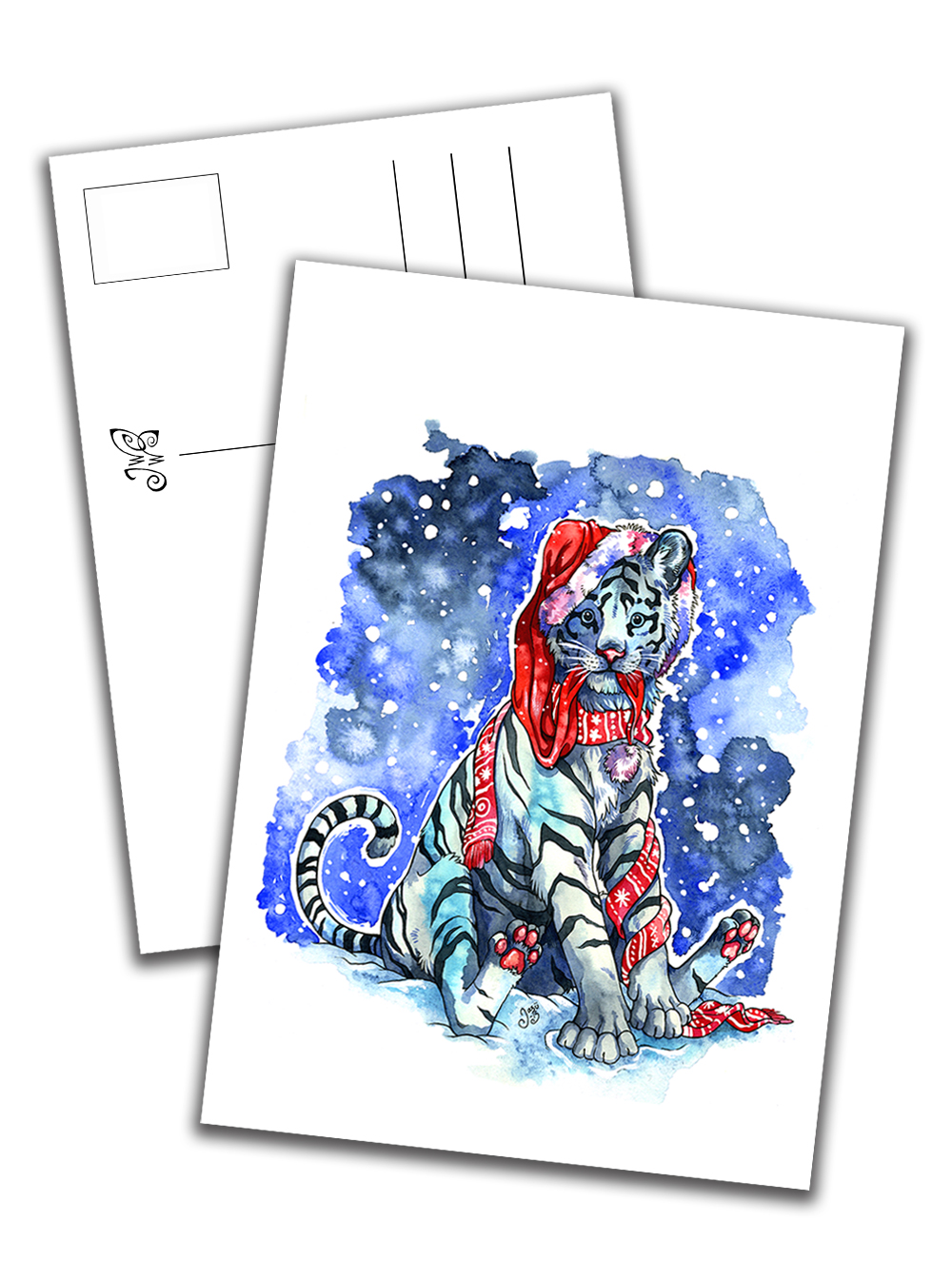 Card - Puffy the Tiger