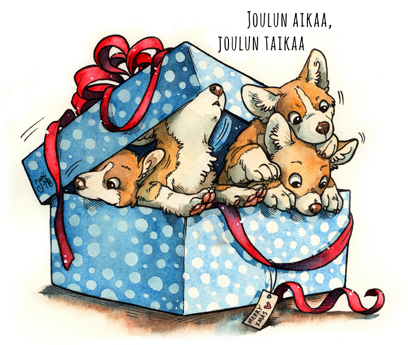 Xmas Doggies