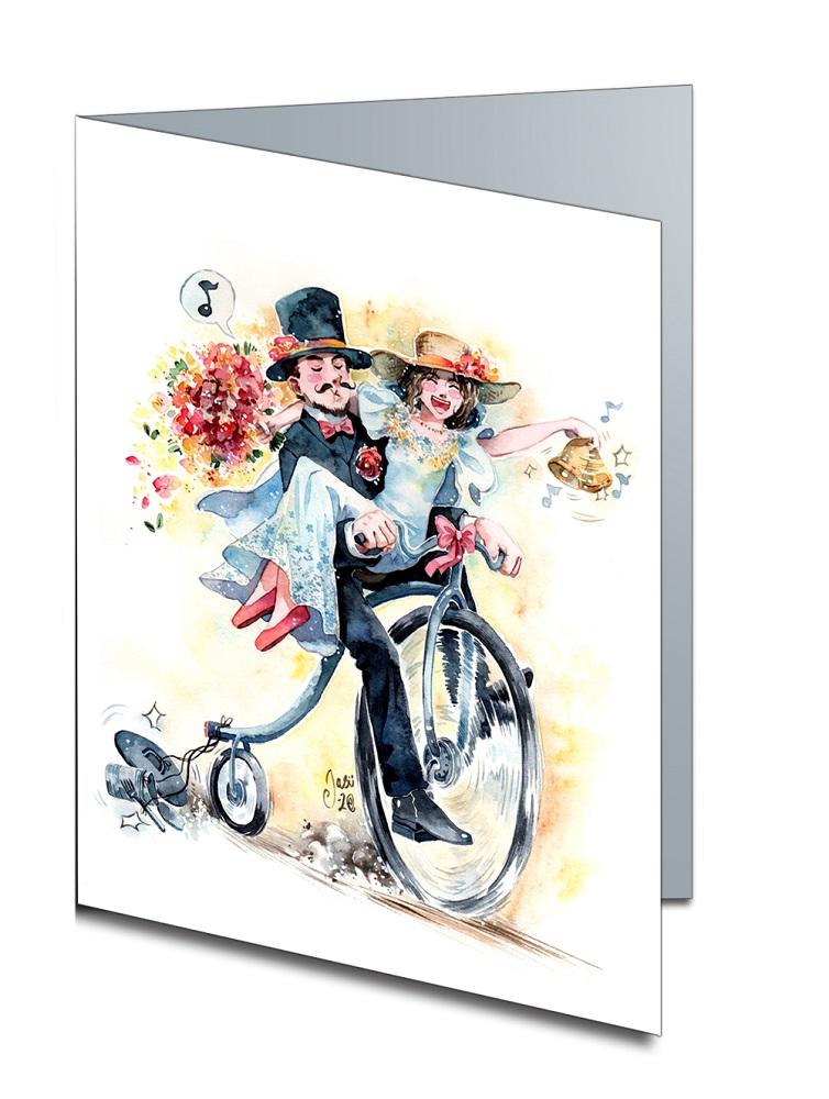 Card - Wedding Bell