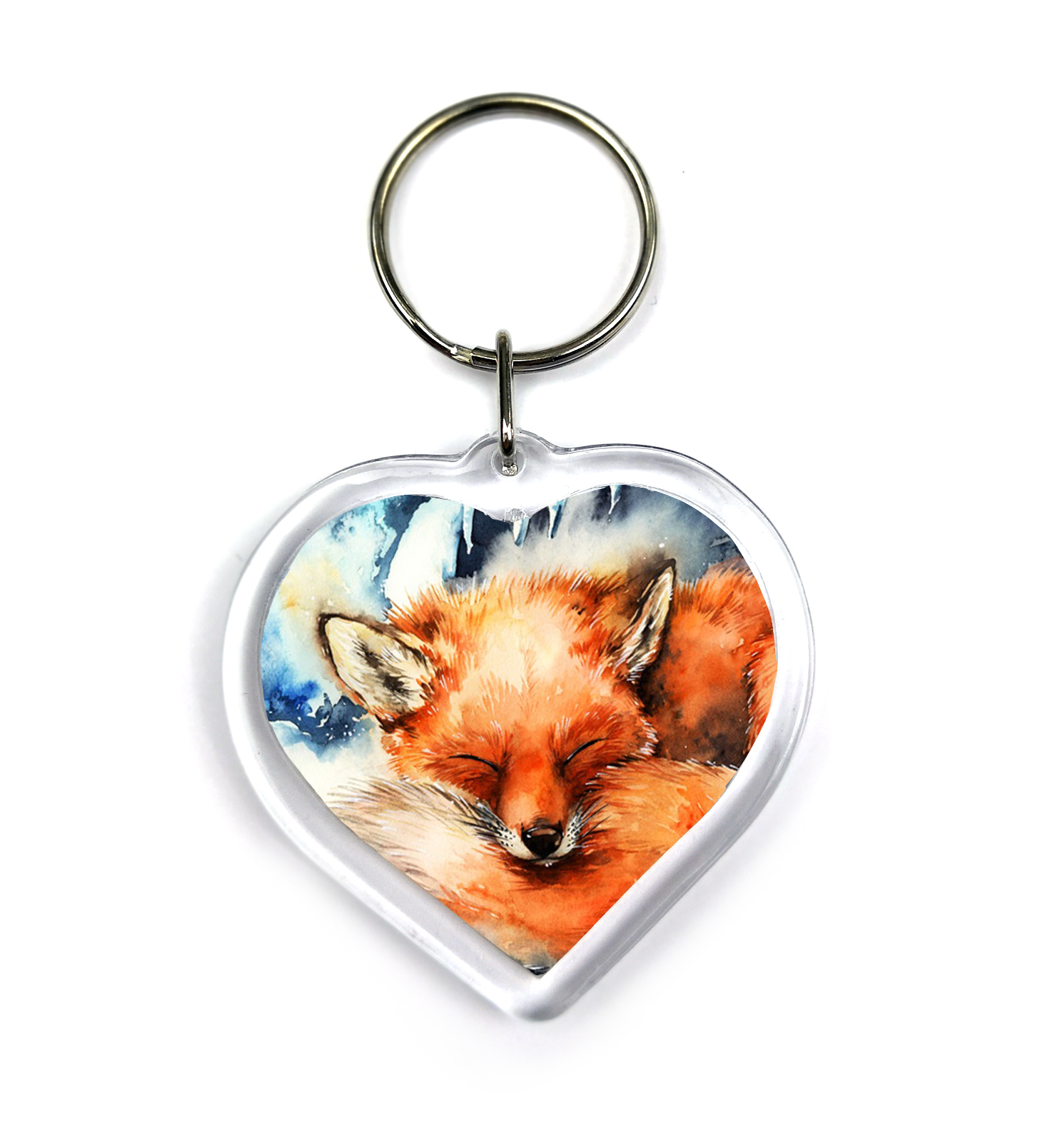 Keychain - Winter Fox