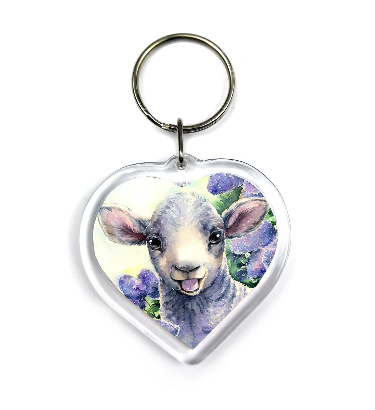 Keychain - Little Lamb