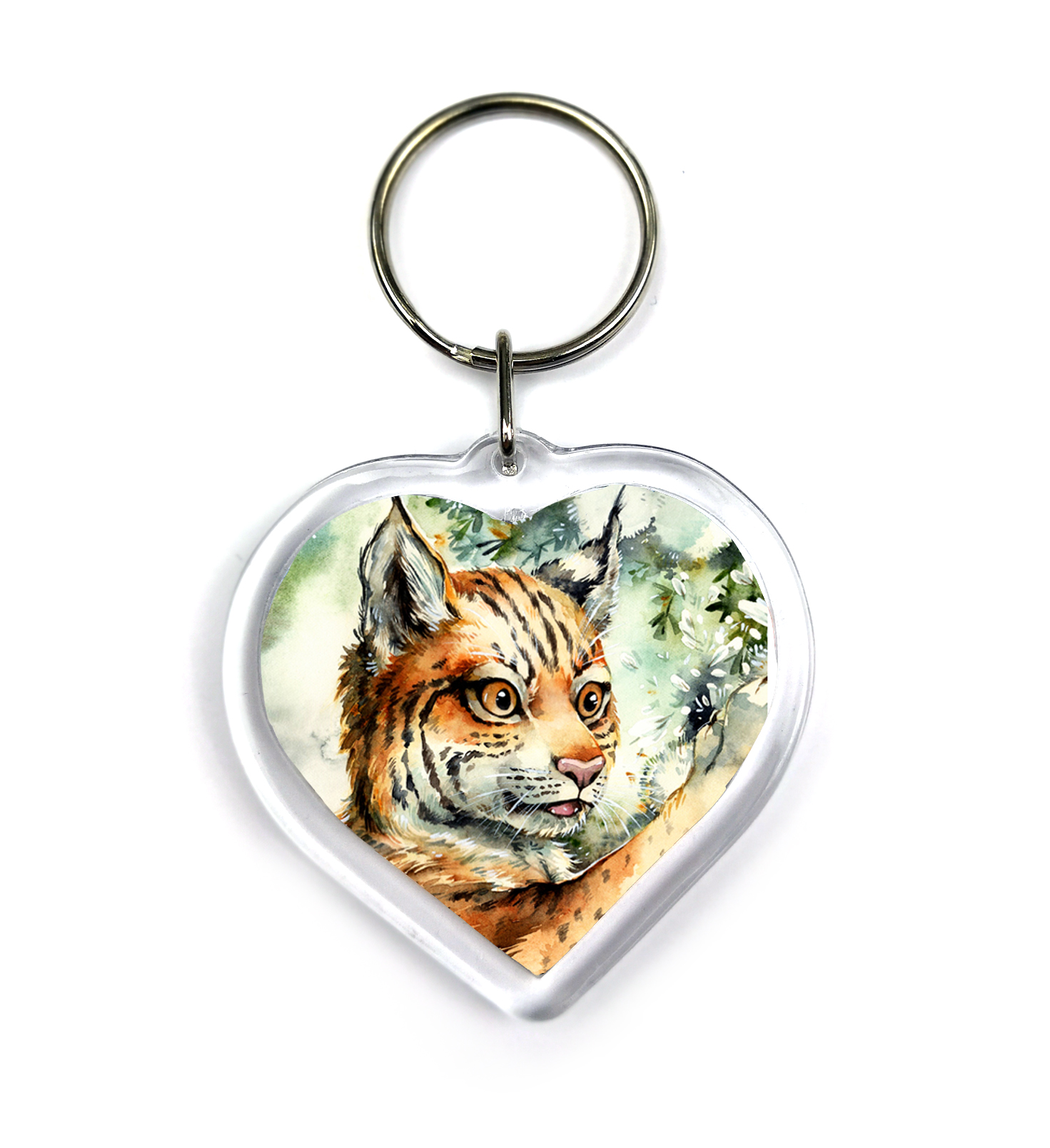 Keychain - Lynx cub