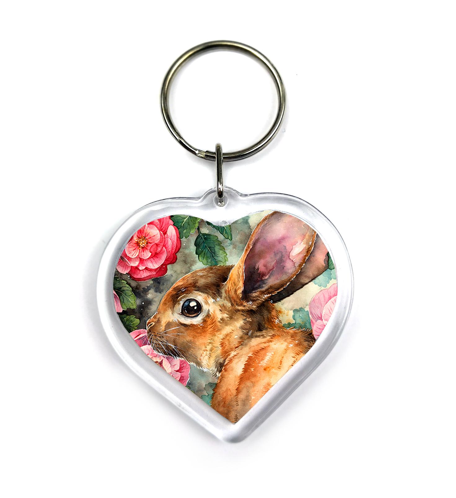 Keychain - Rosy Bunny
