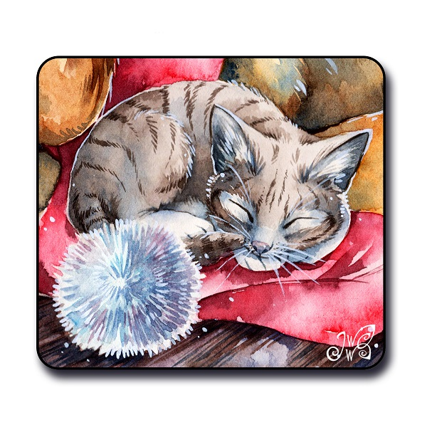 Magnet - Christmas Kitten