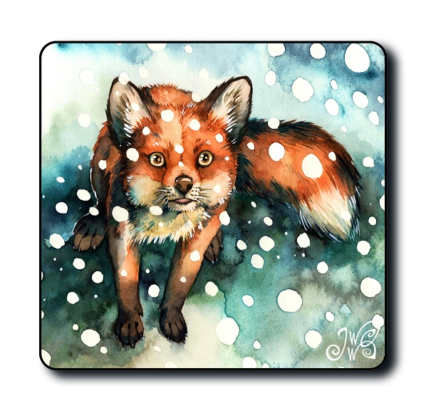 Magnet - Fox in Snowfall