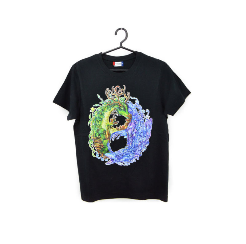 Yin & Yang Dragons T-shirt
